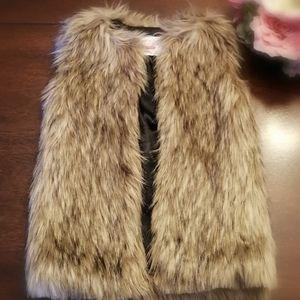 3/$40 - Children's Place Faux fur vest